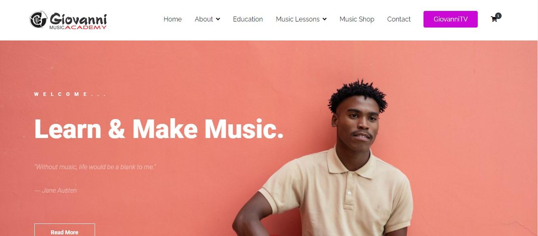 giovannin music academy Screenshot