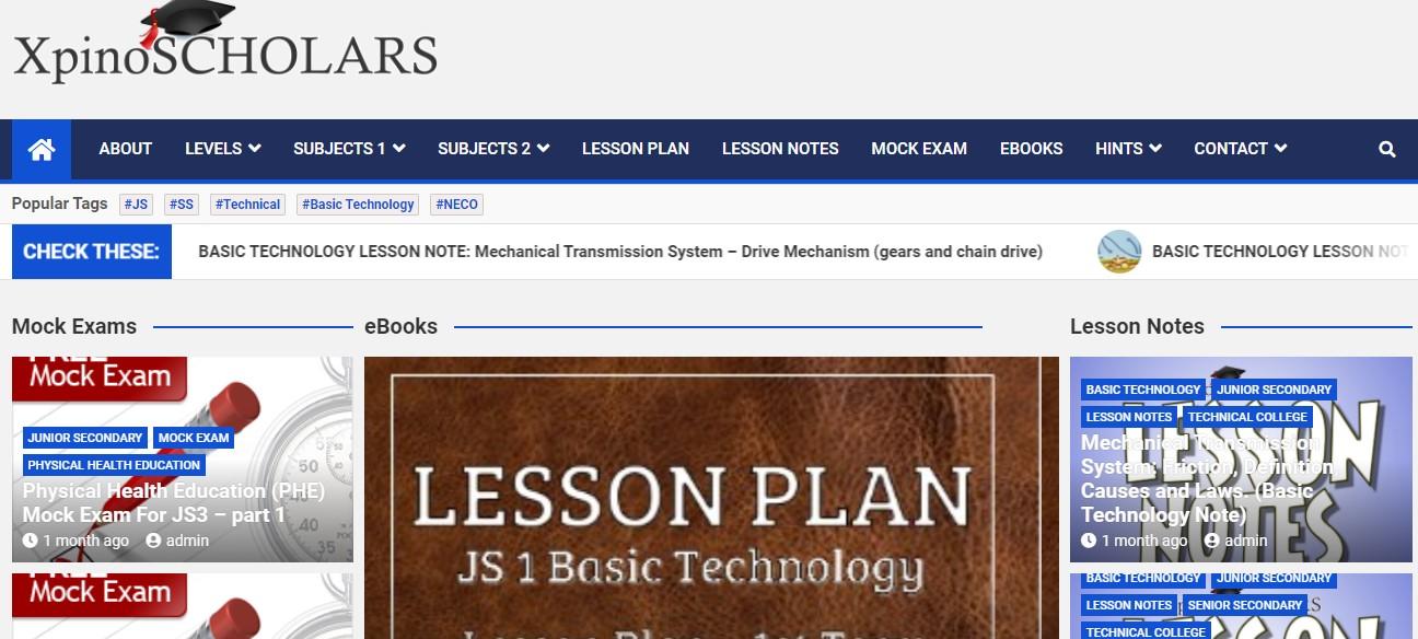 screenshot scholars
